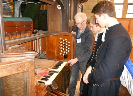 Condair CP3 keeps Christ's Hospital organ in tune